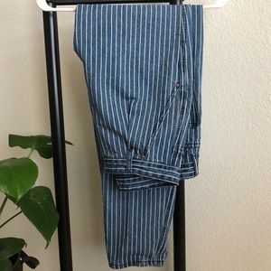 Forever 21 striped jeans
